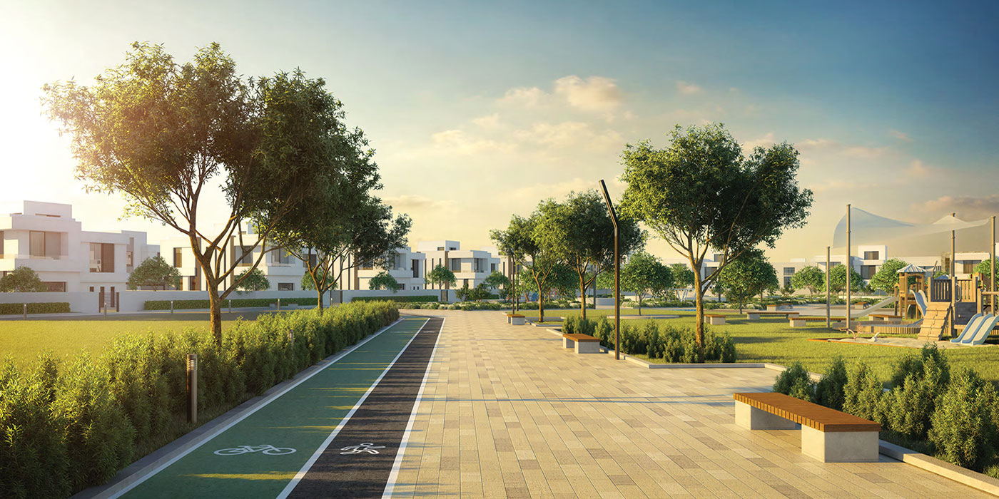 Alreeman land plots at Al Shamka amenities